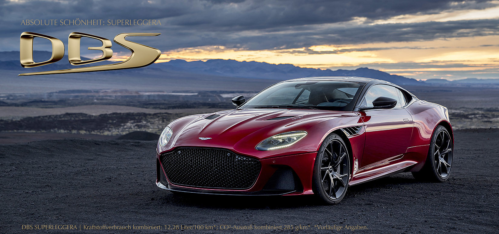 2018: DBS Superleggera
