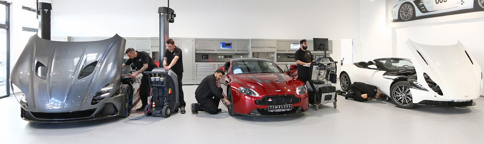 Aston Martin München Service Und Wartung